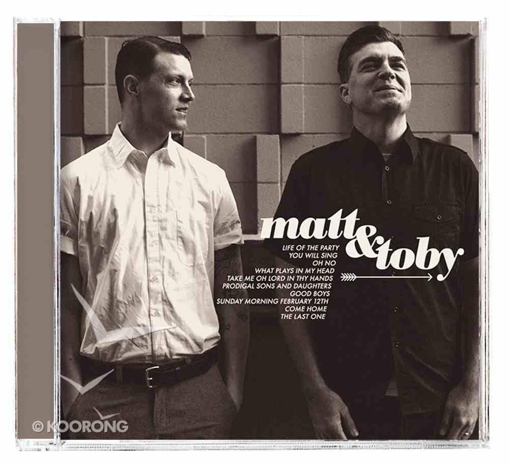 Matt and Toby CD