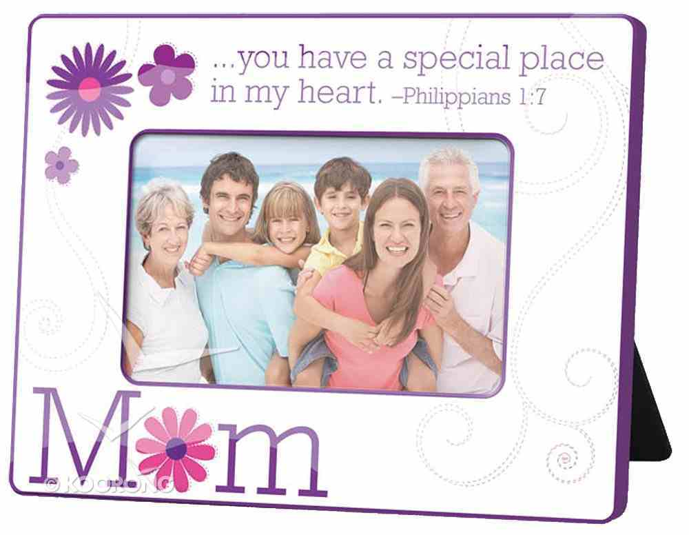 Photo Frame: Mum, Flowers, Purple Homeware