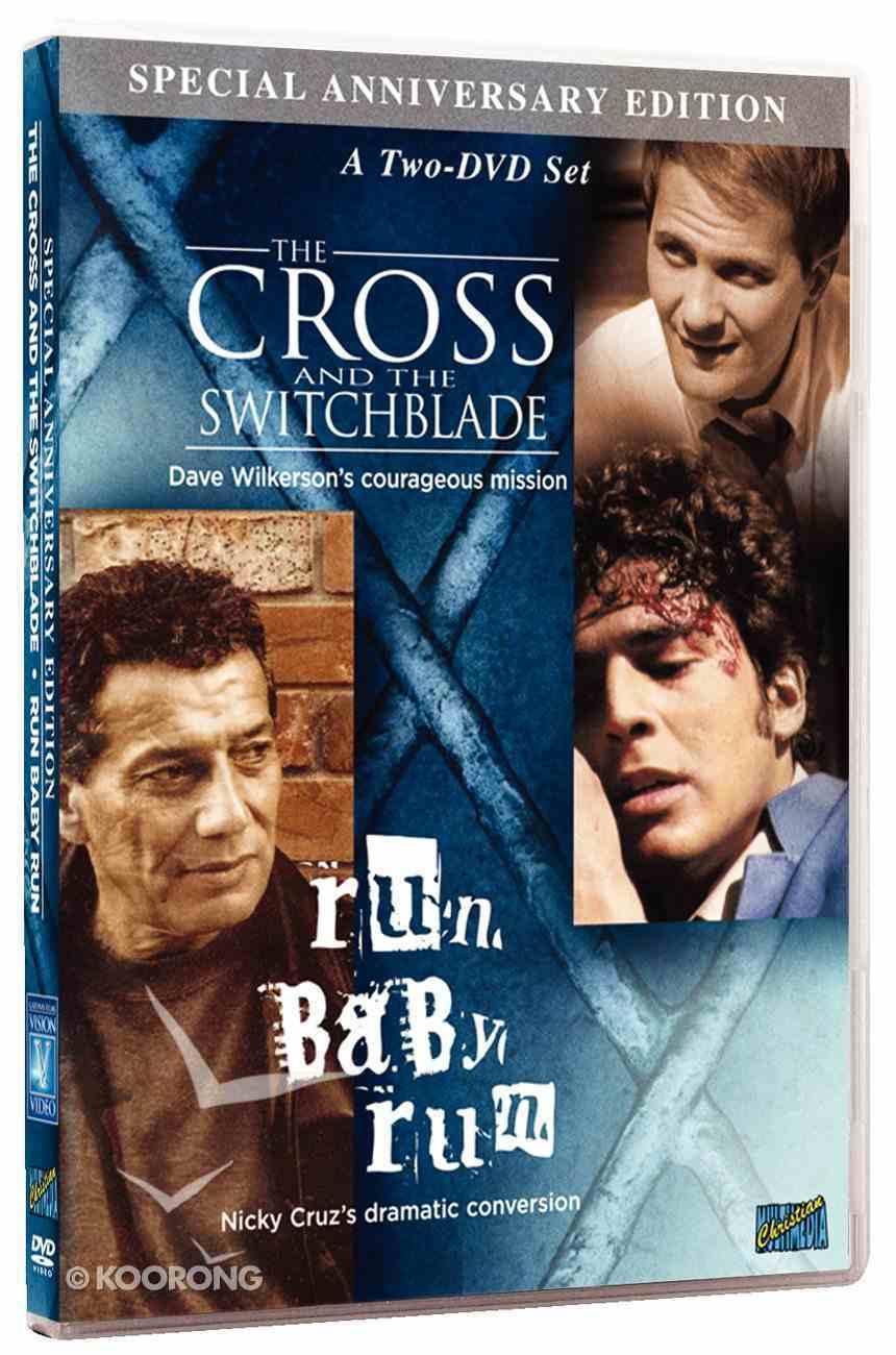 Cross & the Switchblade/Run Baby Run 2 DVD Set (45th Anniversary Edition) DVD