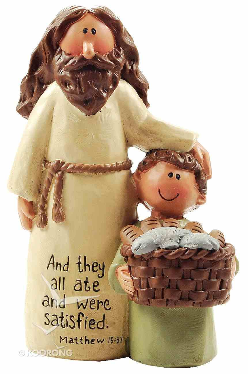 Blossom Bucket: Jesus and Boy With Basket, They All Ate Homeware