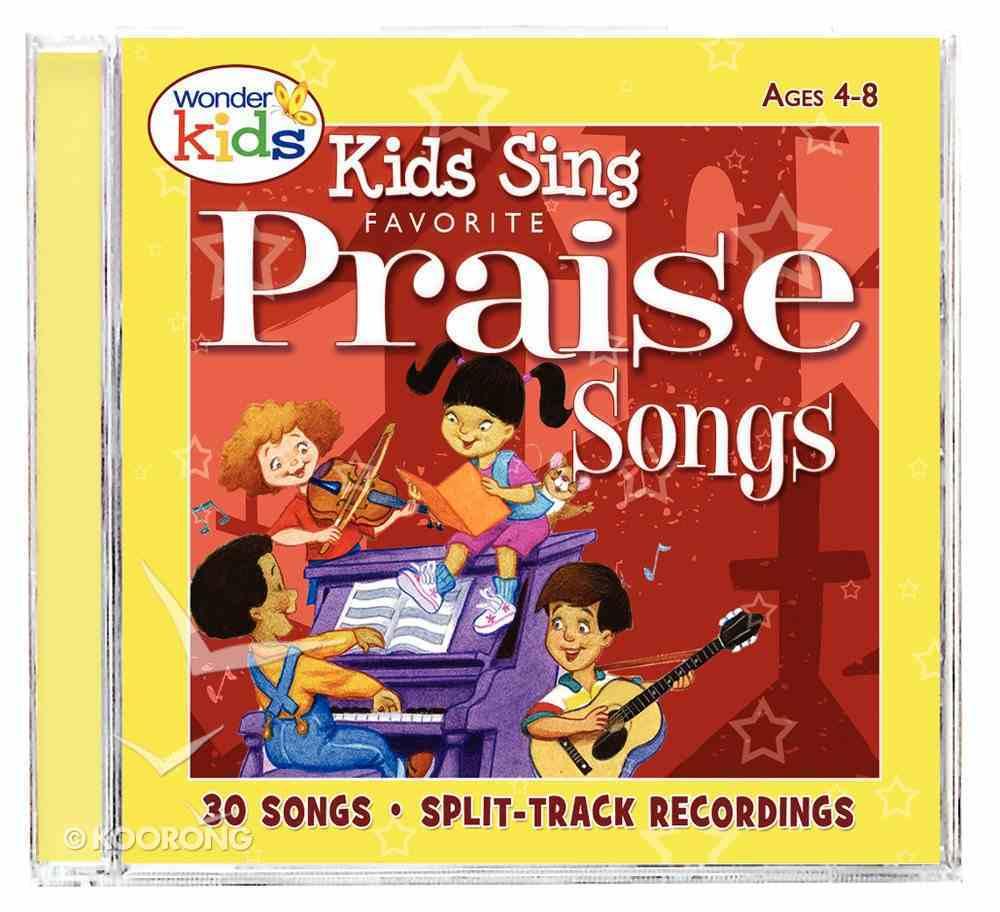 Kids Sing Favorite Praise Songs CD