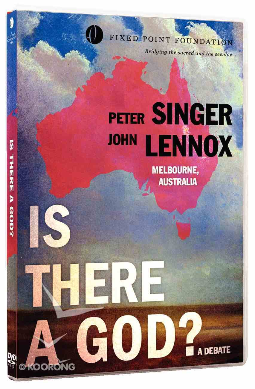 Lennox /Singer Debate: Is There a God? (Fixed Point Foundation Films Series) DVD