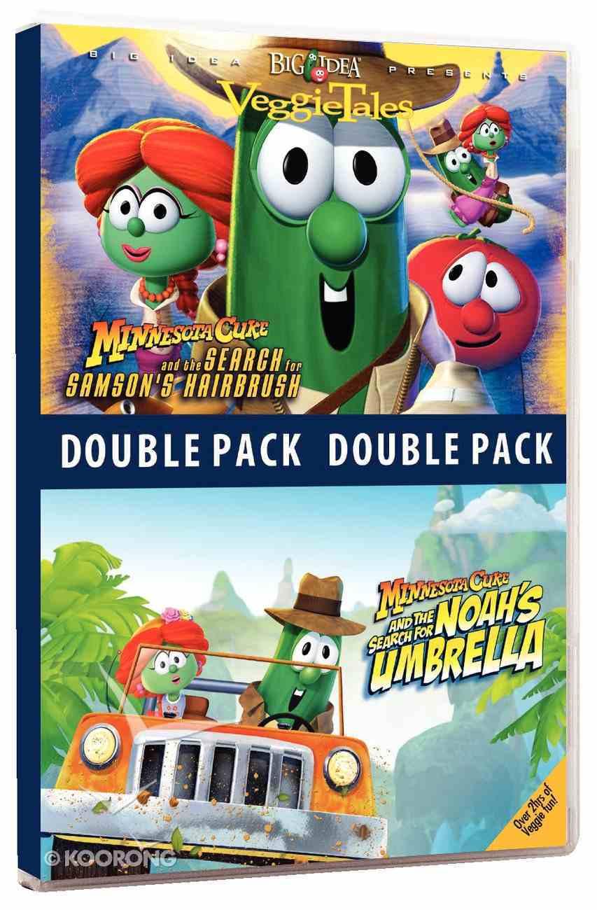 Minnesota Cuke Hairbrush/Noah's Umbrella (Veggie Tales Visual Double Feature Series) DVD