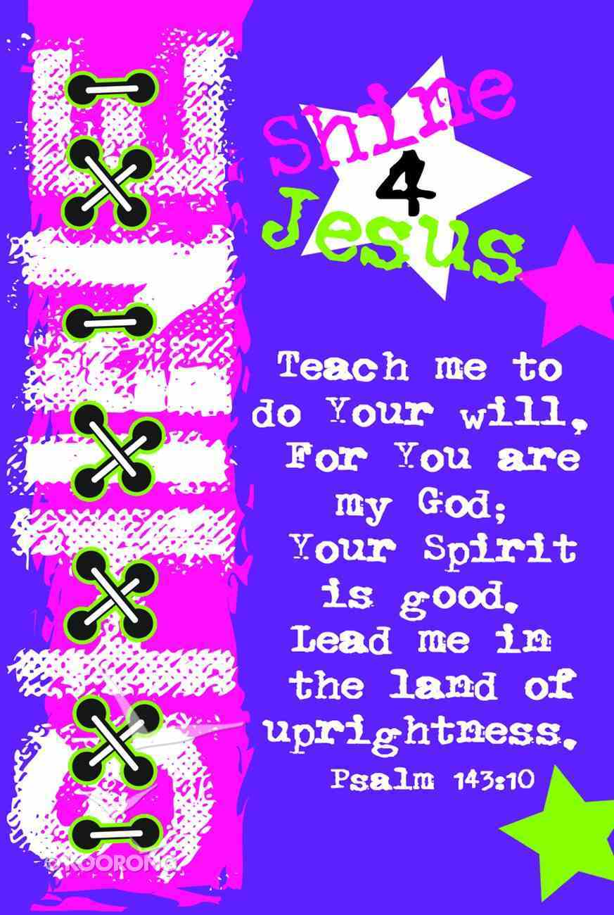 Notepad Teen Series, Pack of 4 With Scriptures Stationery
