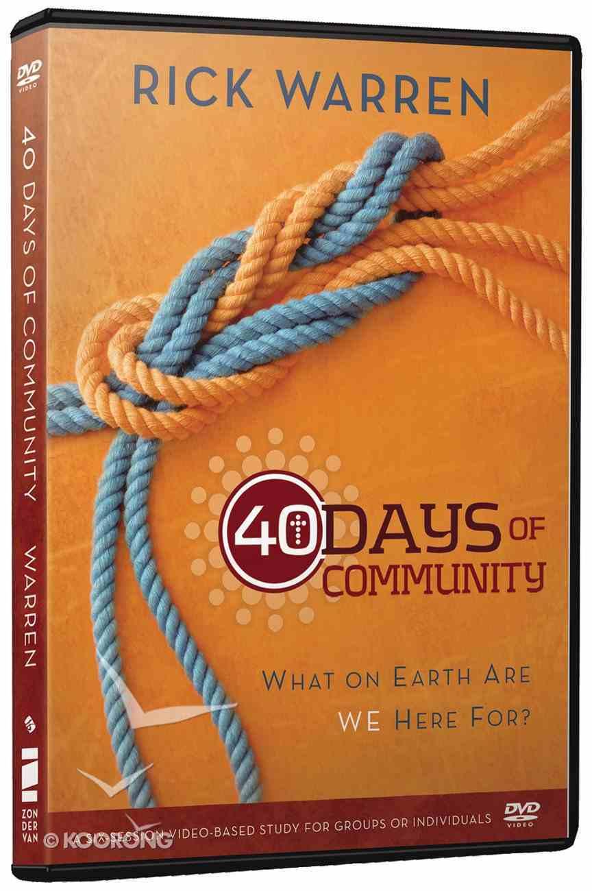 40 Days of Community (Dvd) DVD
