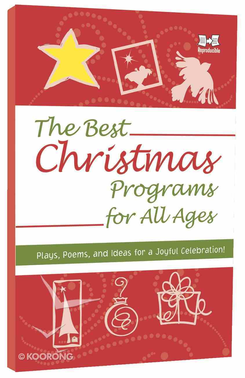 The Best Christmas Programs For All Ages Paperback