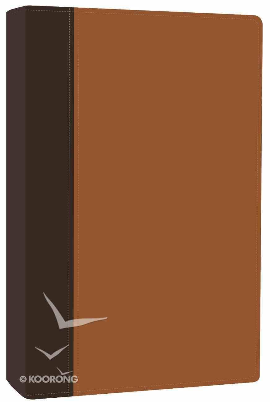 NLT New Believer's Bible Dark Brown/Burnt Sienna Imitation Leather