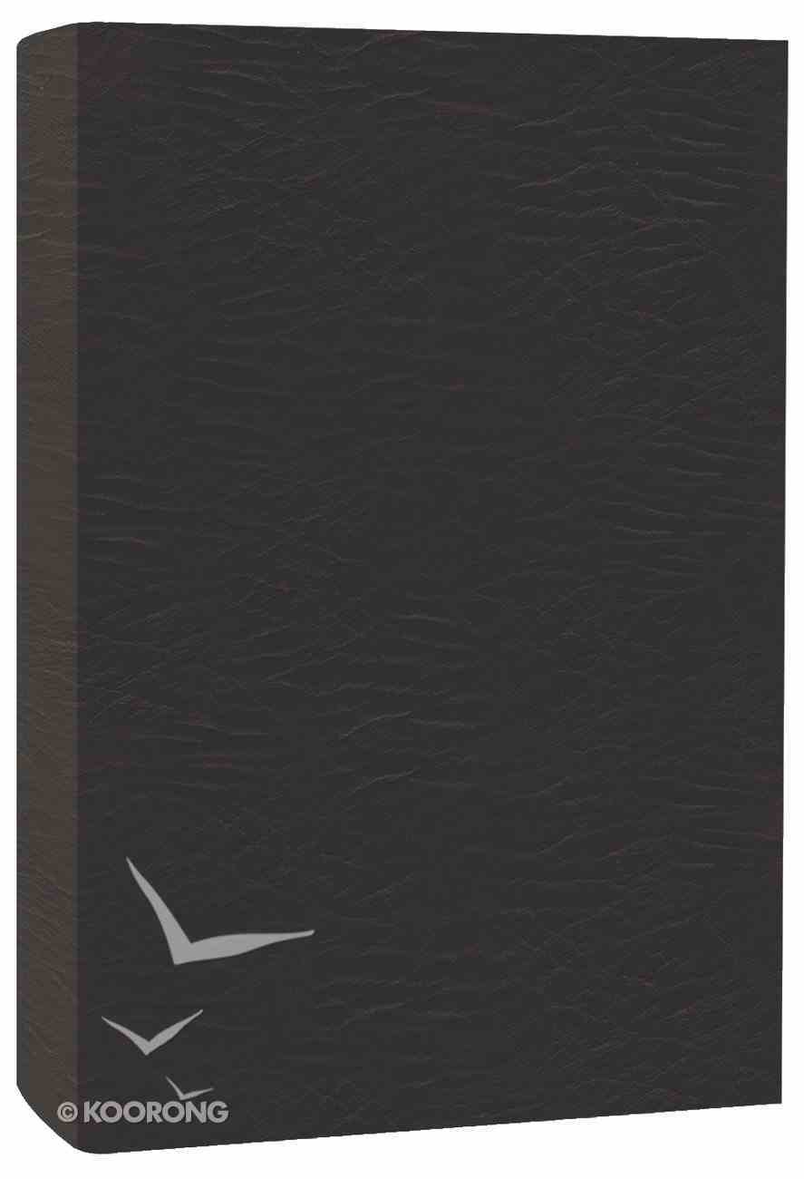 The Voice Bible Black Bonded Leather