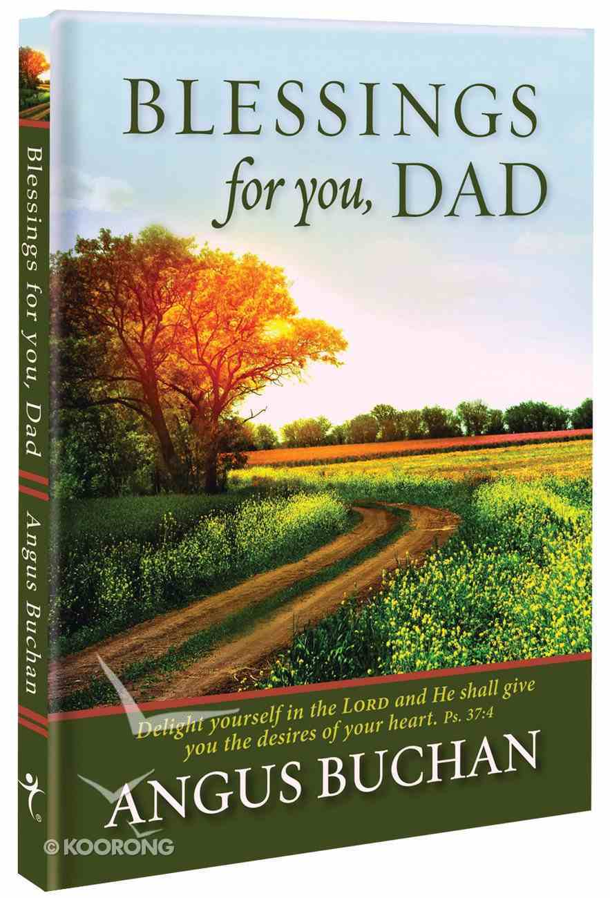 Blessings For You, Dad Hardback