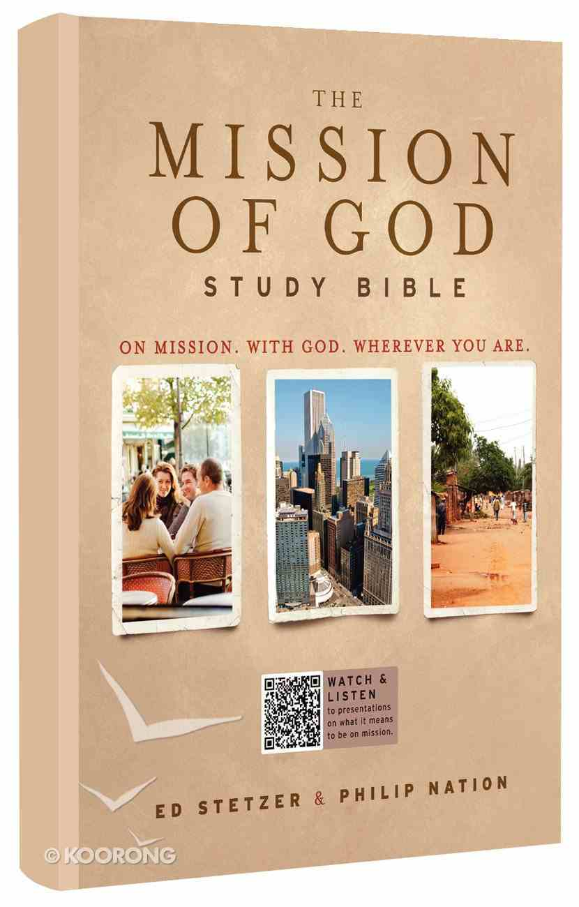HCSB the Mission of God Study Bible Hardback