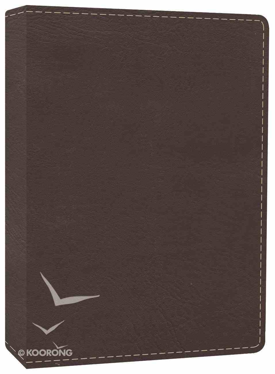HCSB the Mission of God Study Bible Brown Imitation Leather