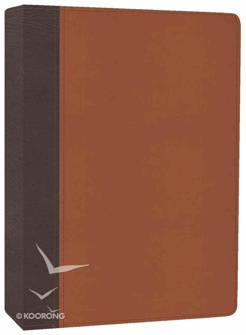 HCSB the Mission of God Study Bible Brown/Tan Imitation Leather