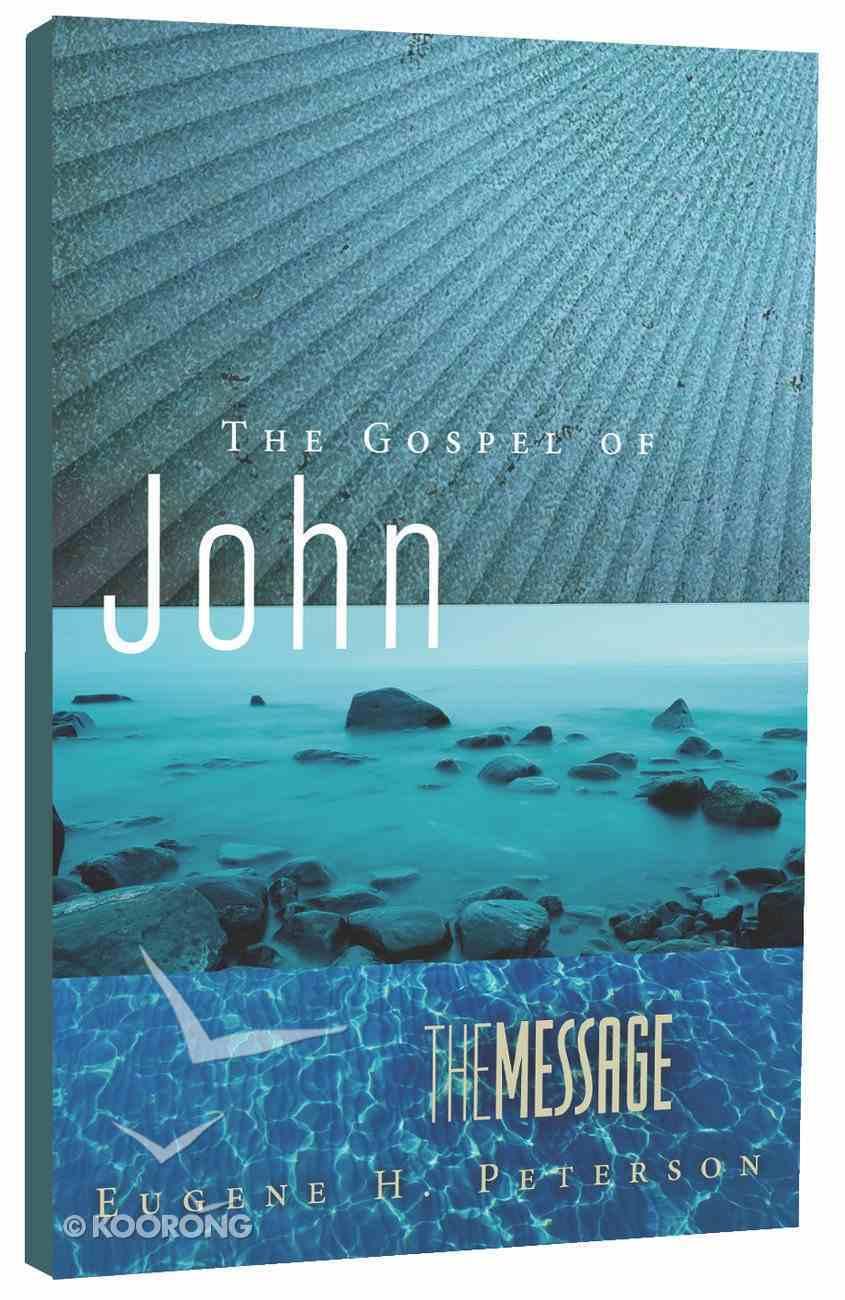 Message Gospel of John (Black Letter Edition) Paperback