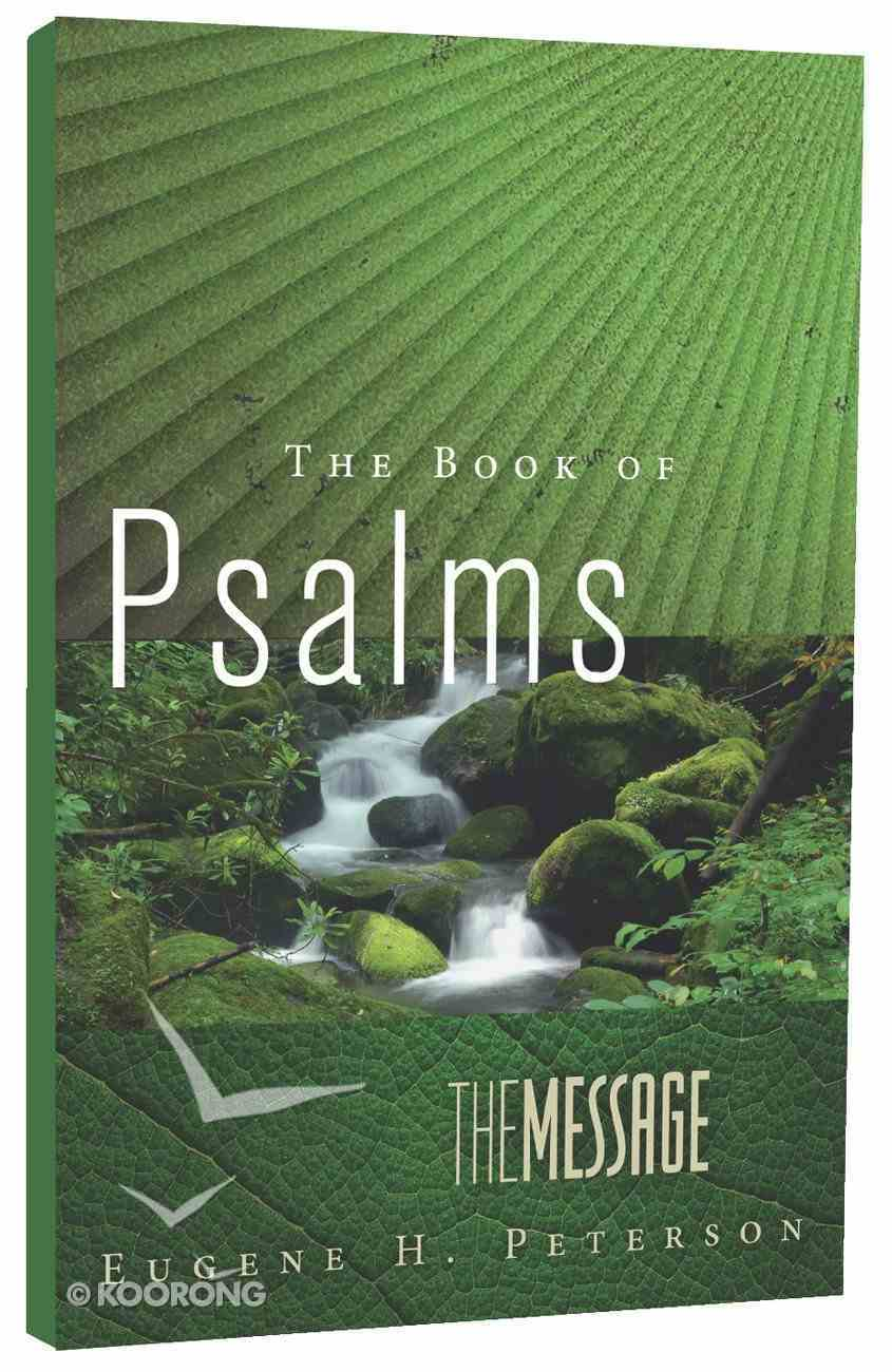 Message Book of Psalms (Black Letter Edition) Paperback