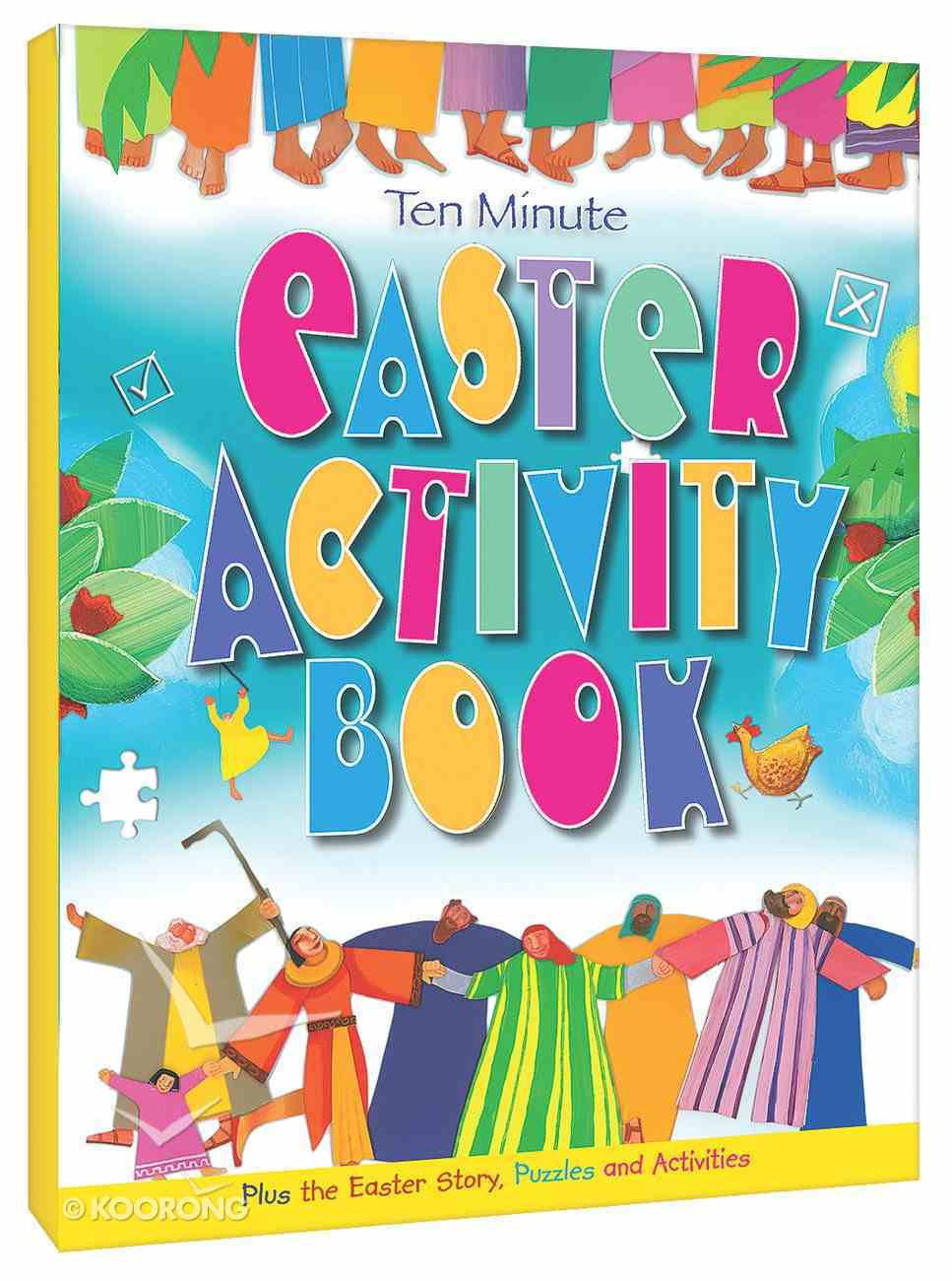 Ten Minute Easter Activity Book Paperback