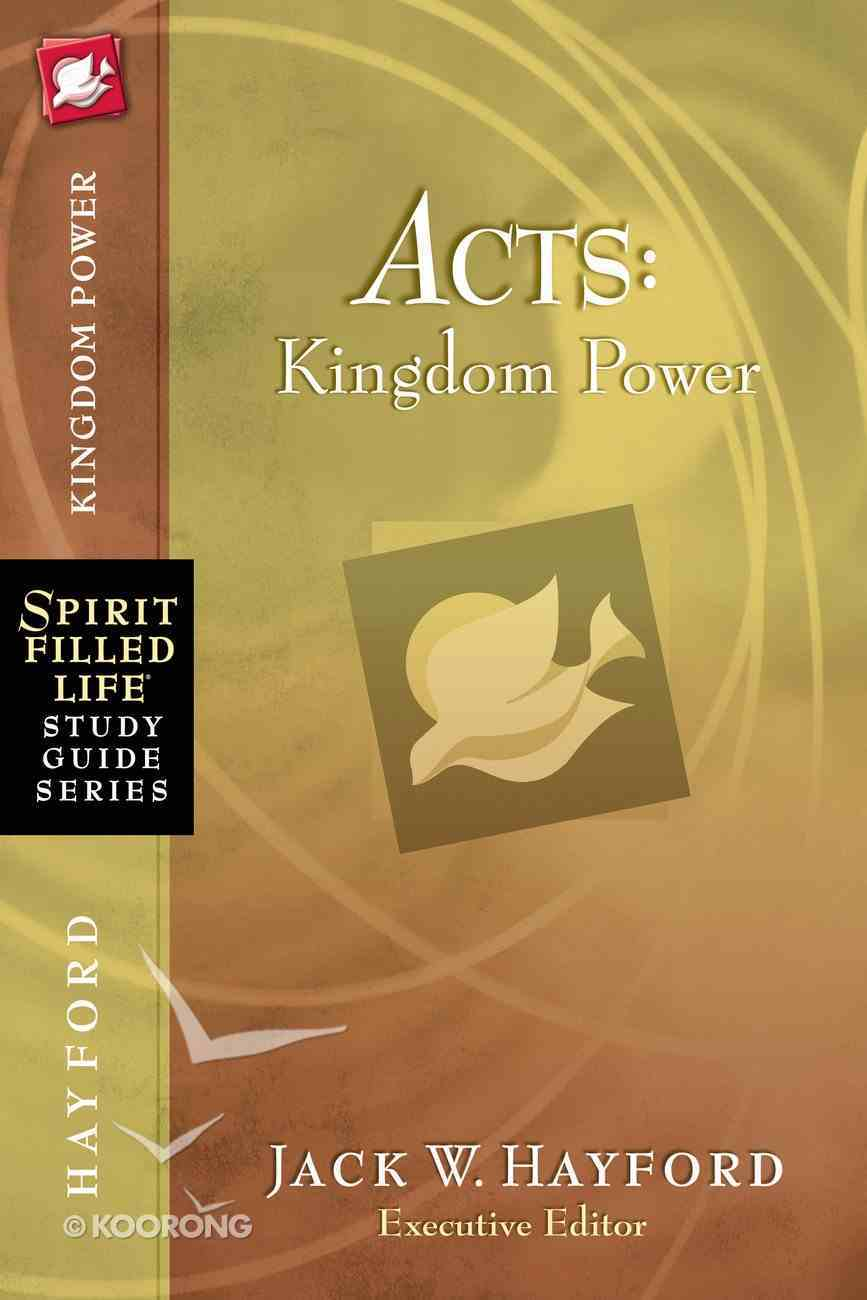 Acts (Spirit-filled Life Study Guide Series) eBook