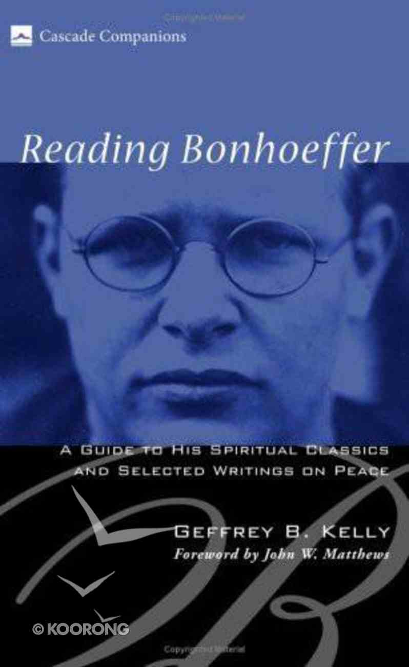 Reading Bonhoeffer eBook