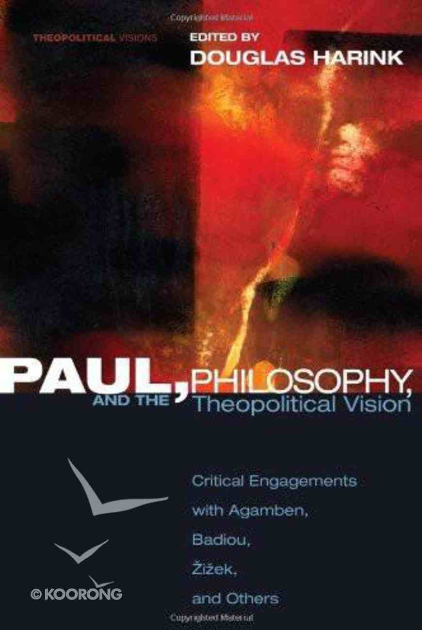 Paul Philosophy and the Theopolitical Vision eBook