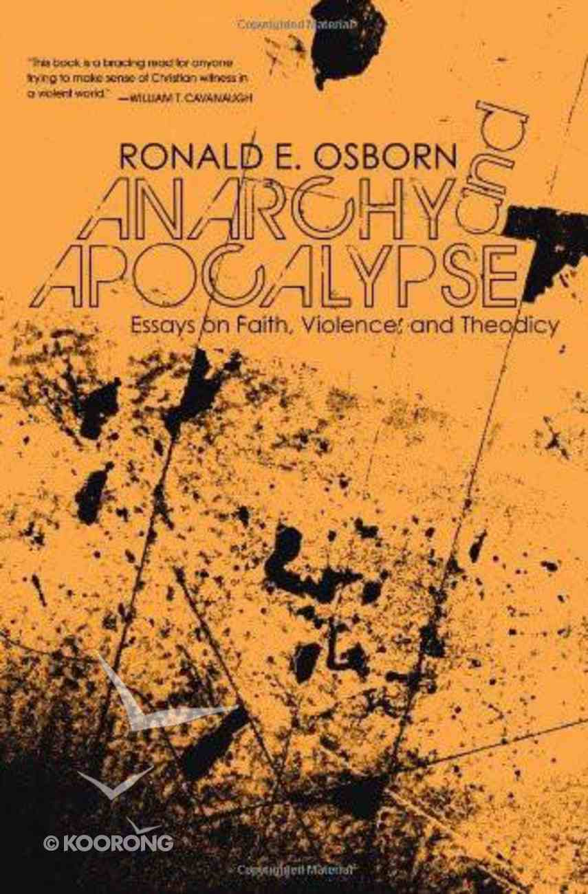 Anarchy and Apocalypse eBook