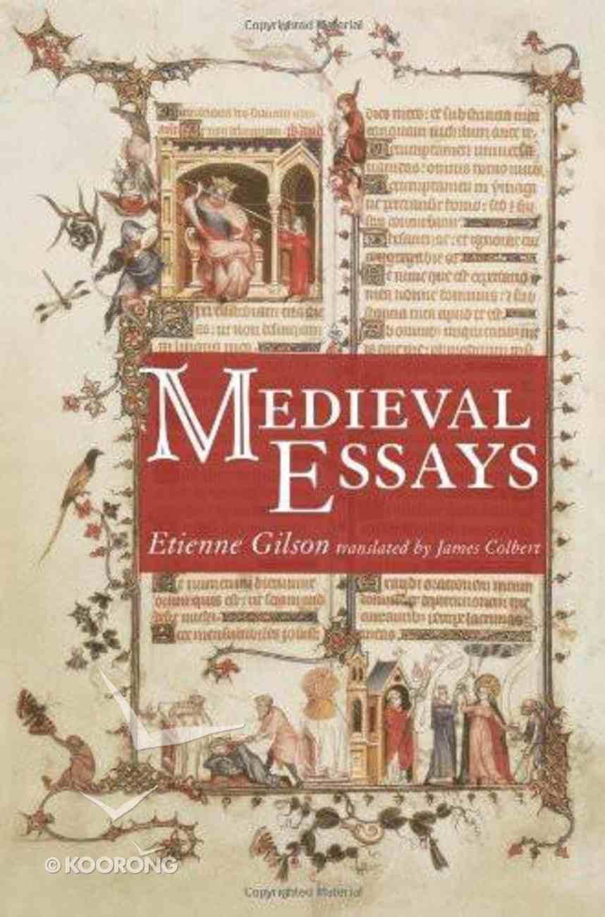 Medieval Essays eBook