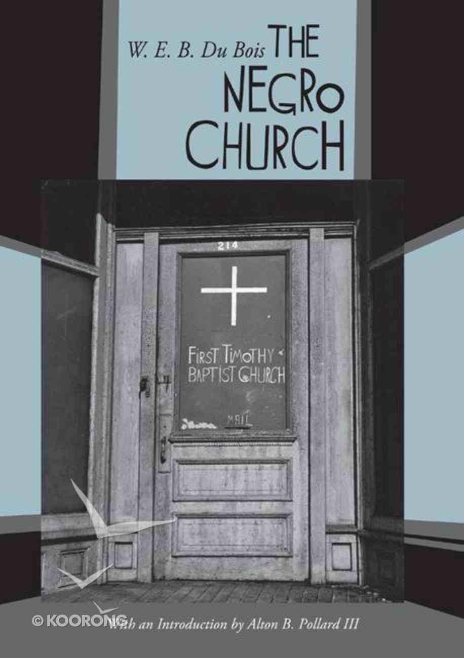 The Negro Church eBook