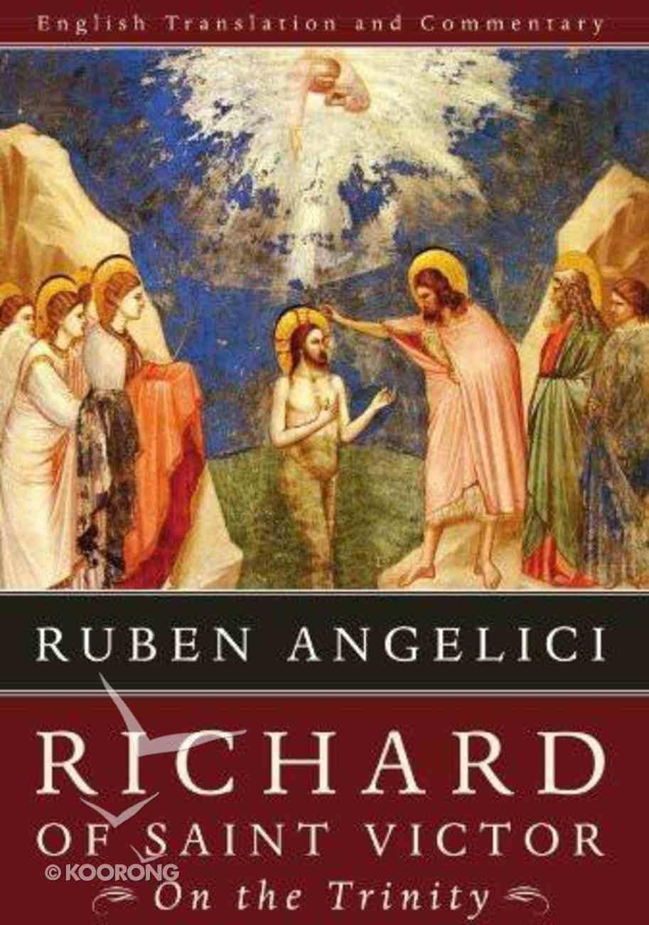 Richard of Saint Victor, on the Trinity eBook