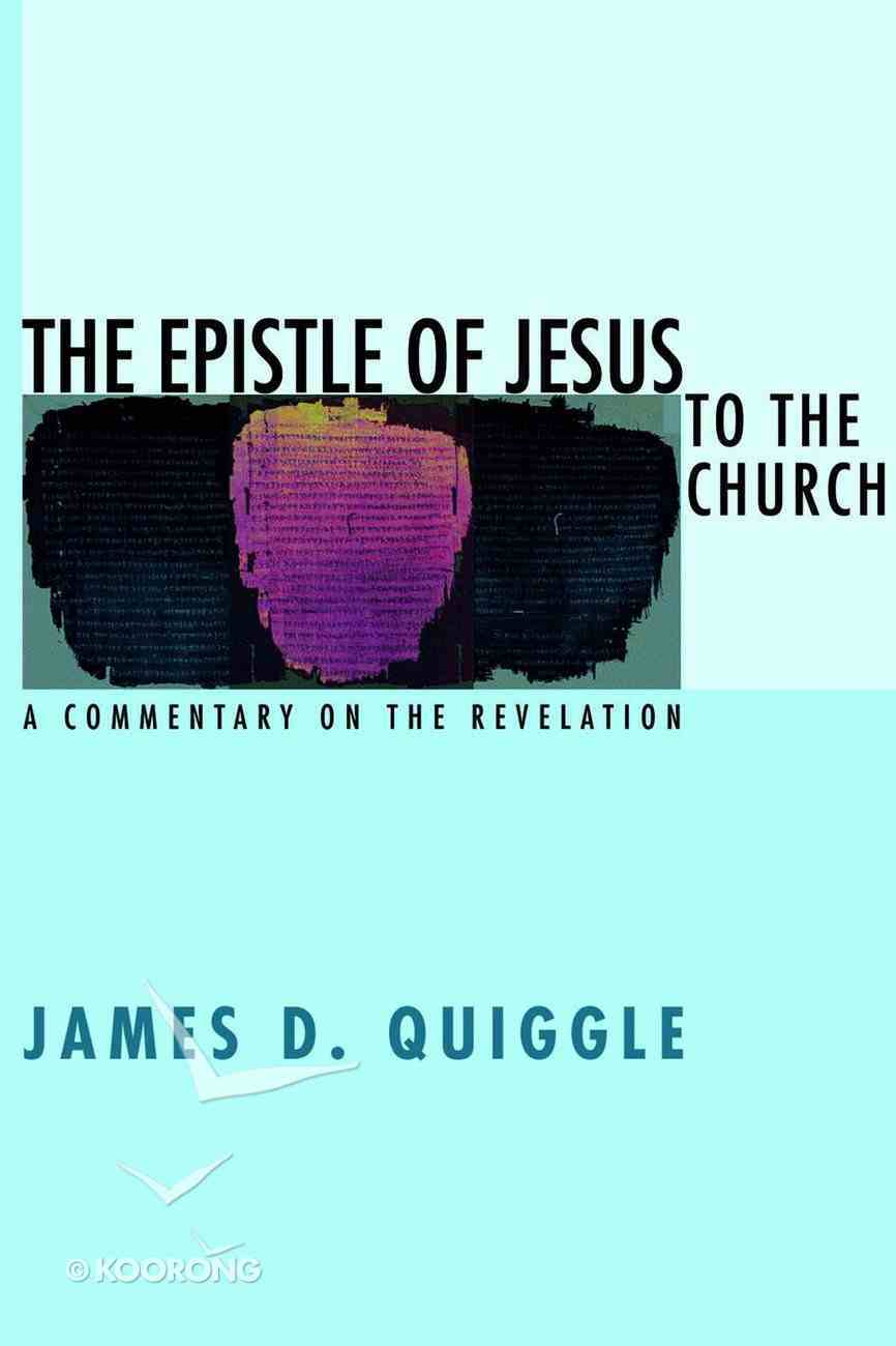 The Epistle of Jesus to the Church eBook