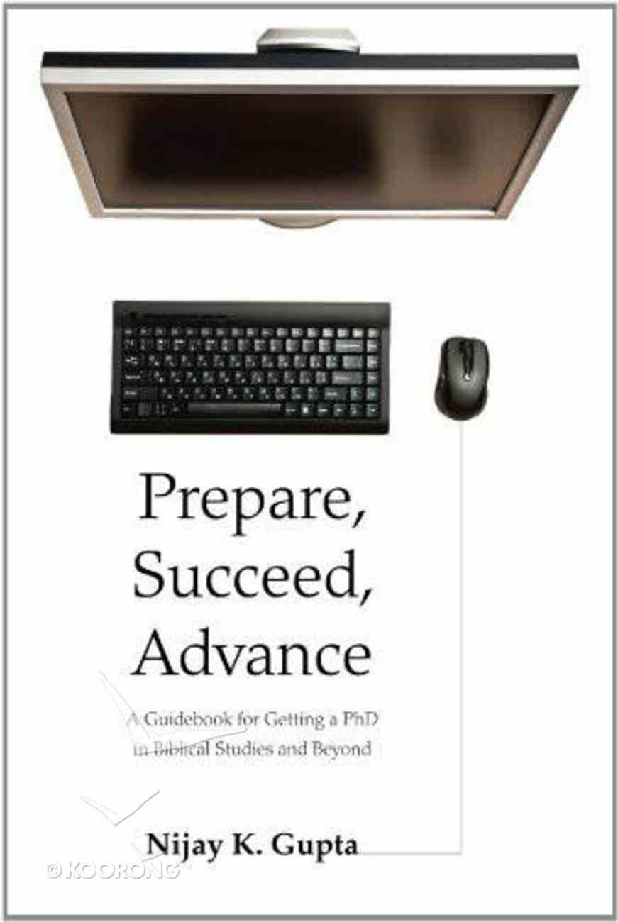 Prepare, Succeed, Advance eBook