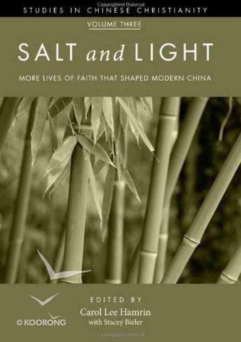 Salt and Light (Volume 3) eBook