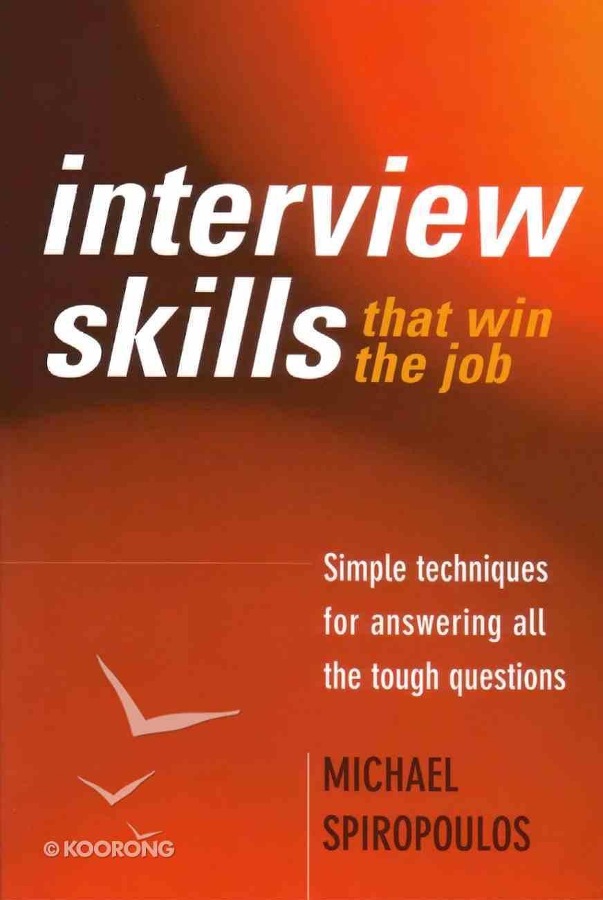 Interview Skills That Win the Job eBook