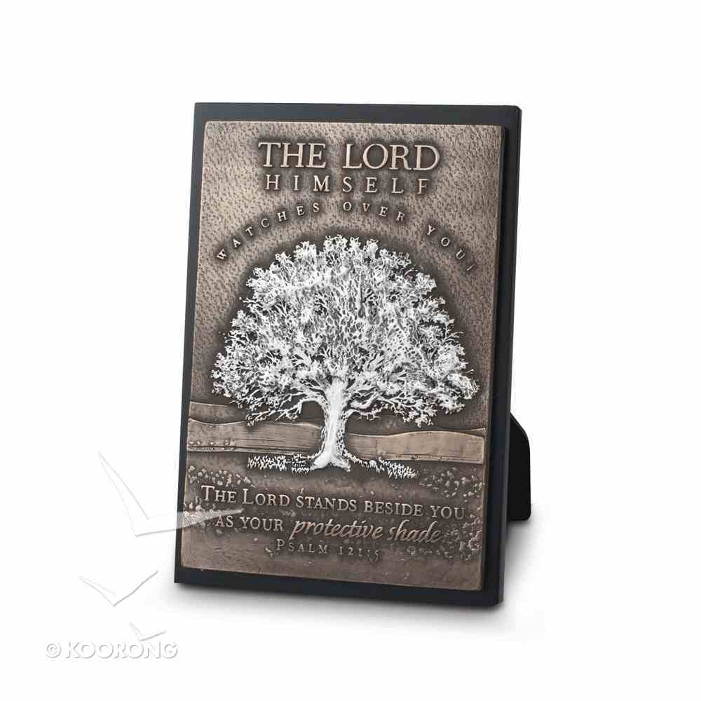 Small Moments of Faith Plaque: Tree, the Lord Himself, Psalm 121:5 Plaque