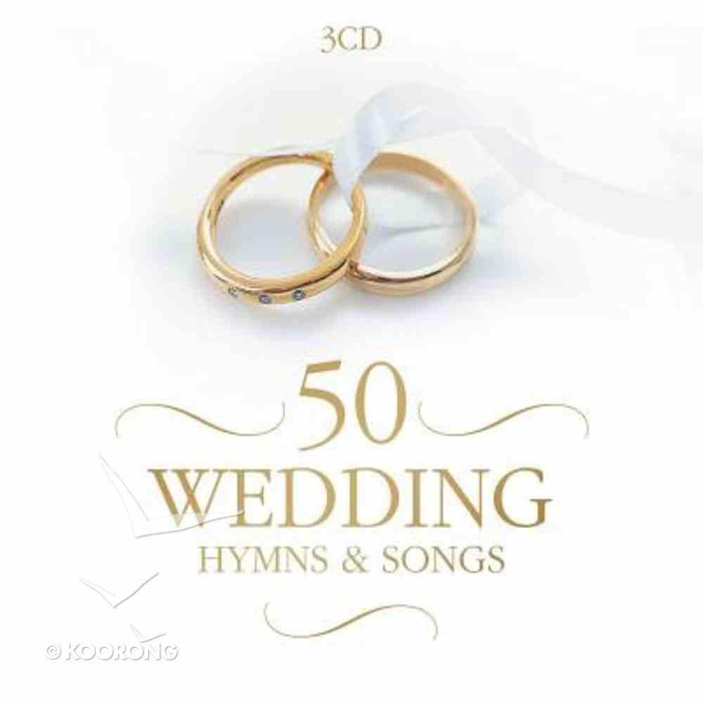 50 Wedding Hymns and Songs Triple CD CD