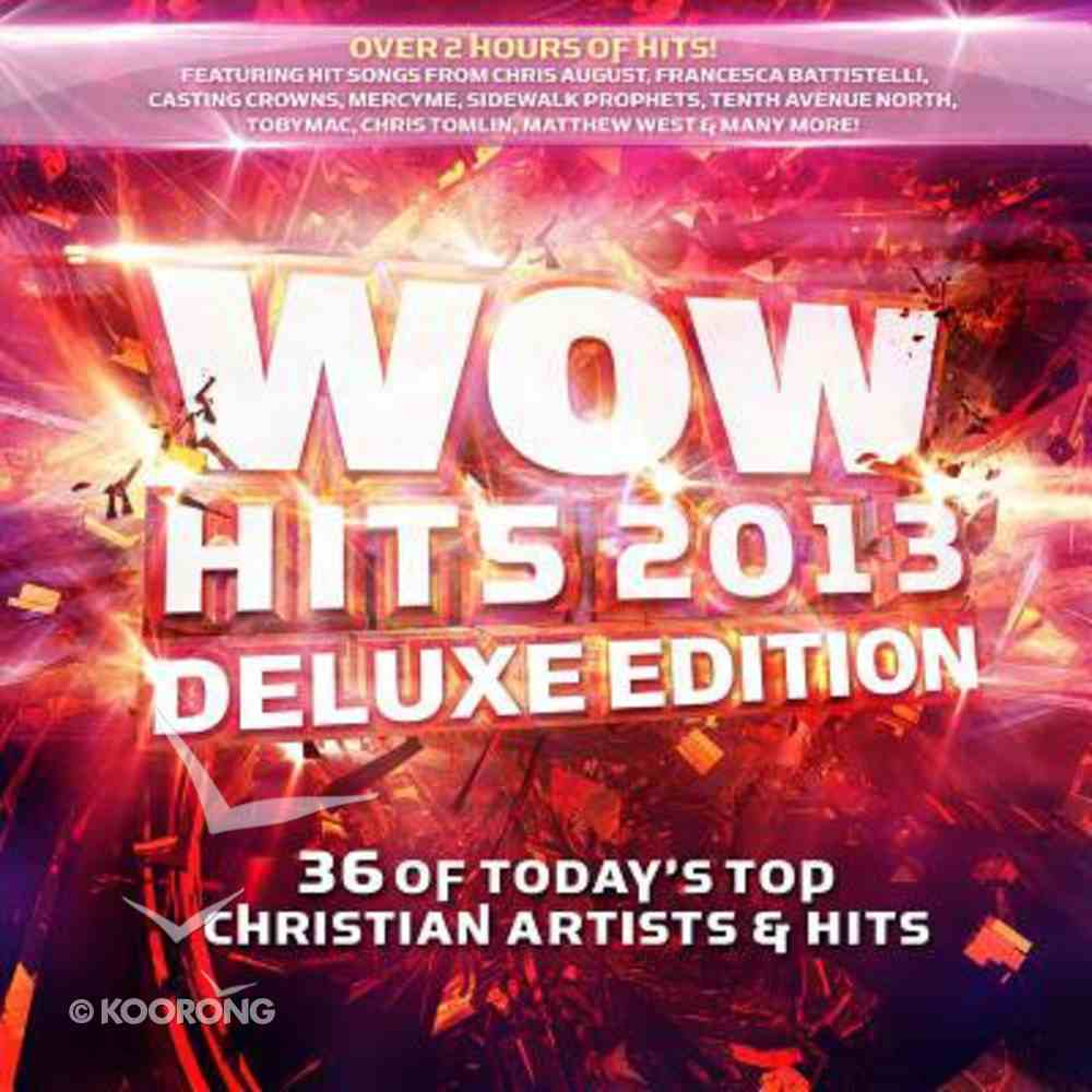 Wow 2013 Deluxe Edition CD