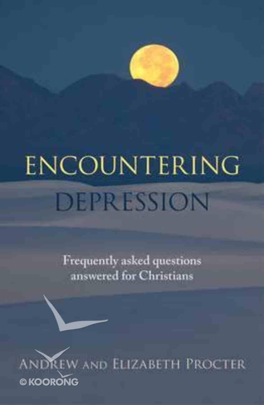 Encountering Depression Paperback