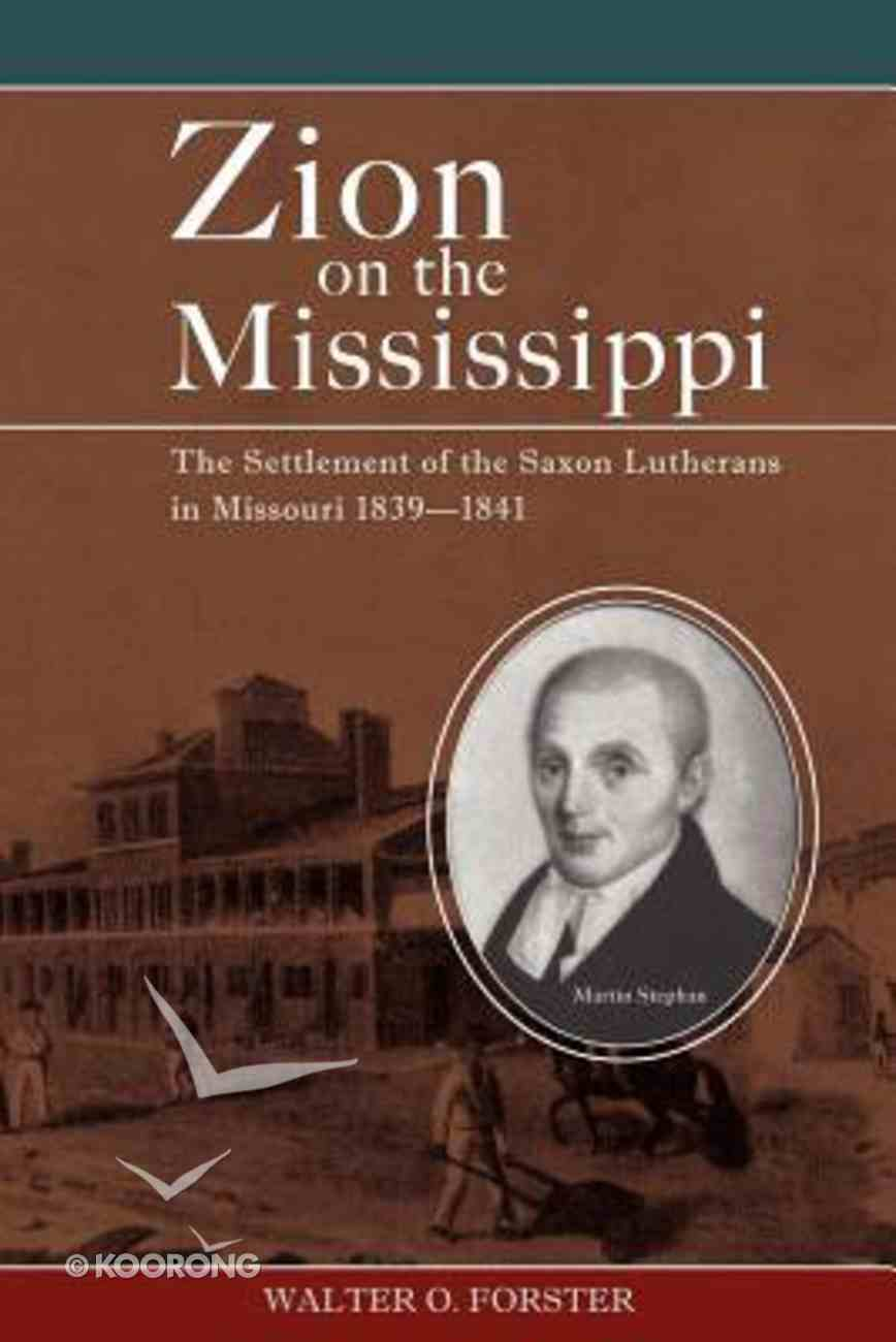 Zion on the Mississippi Paperback
