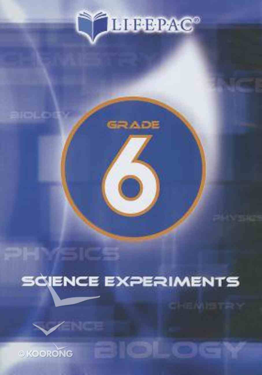Grade 6 (Lifepac Science Experiments Dvd Series) DVD