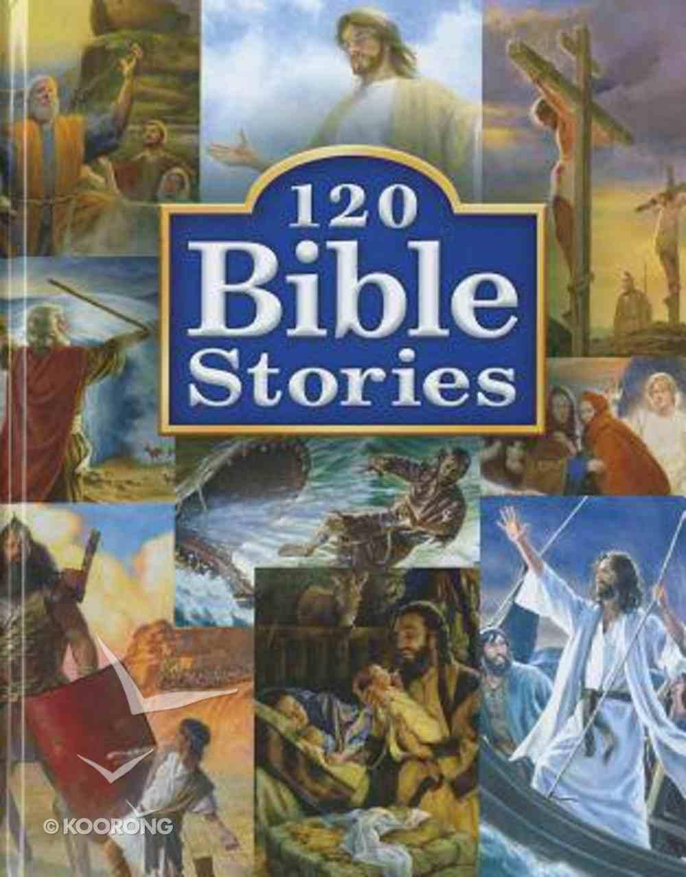 120 Bible Stories Hardback