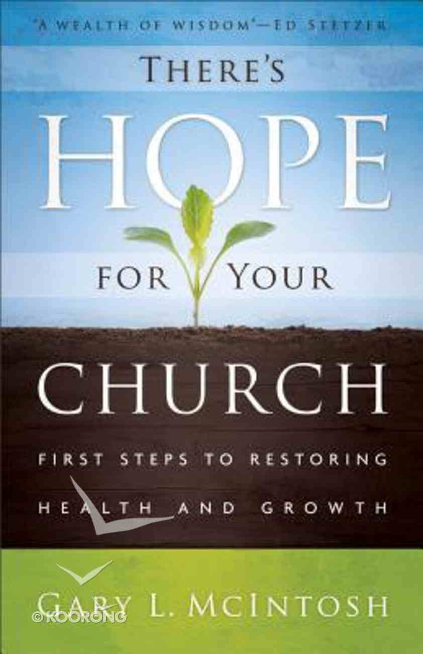 There's Hope For Your Church Paperback