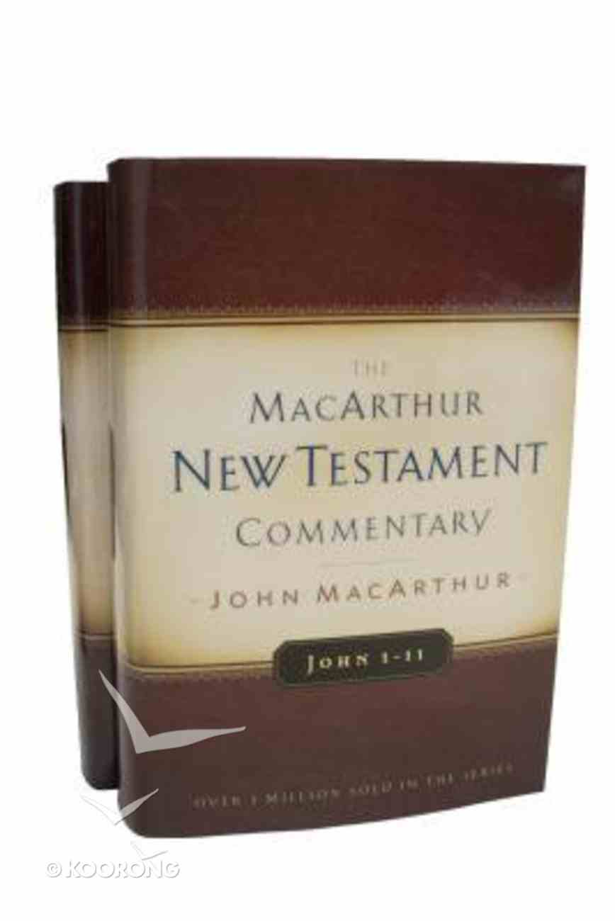 Gospel of John (Macarthur New Testament Commentary Series) Hardback