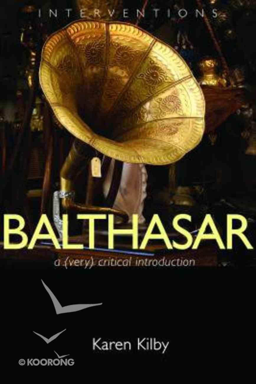 Balthasar Paperback