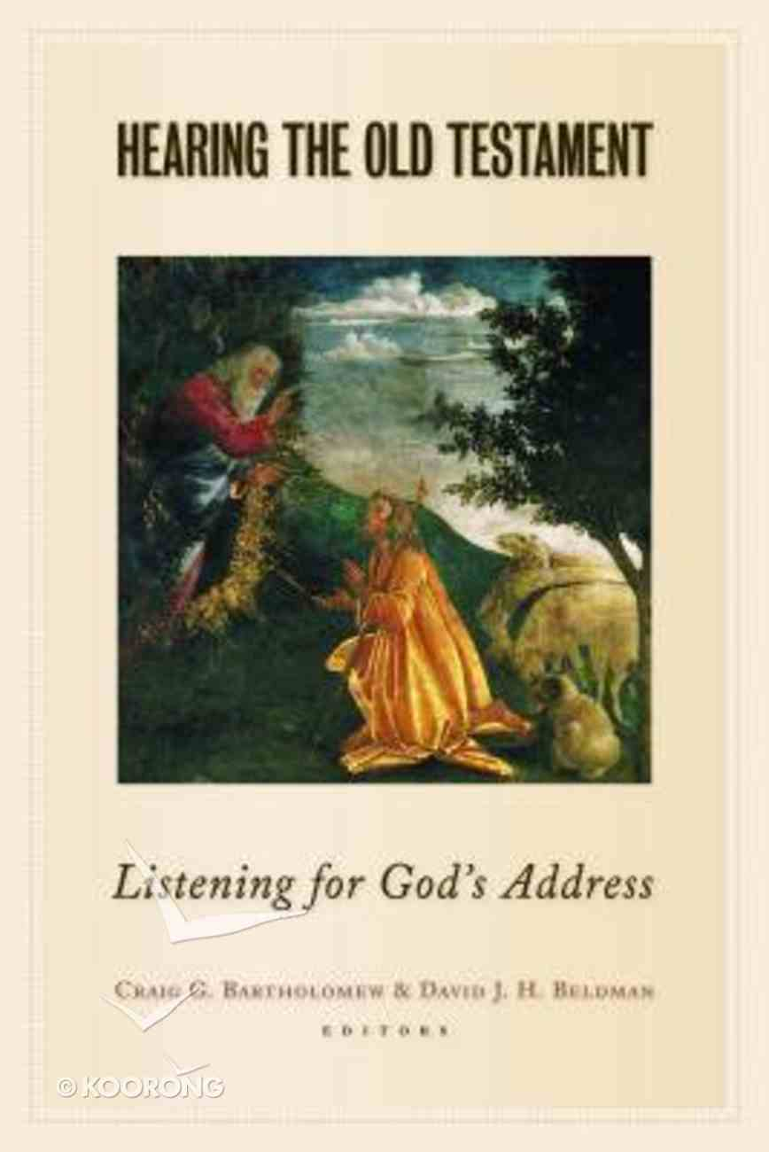 Hearing the Old Testament Paperback