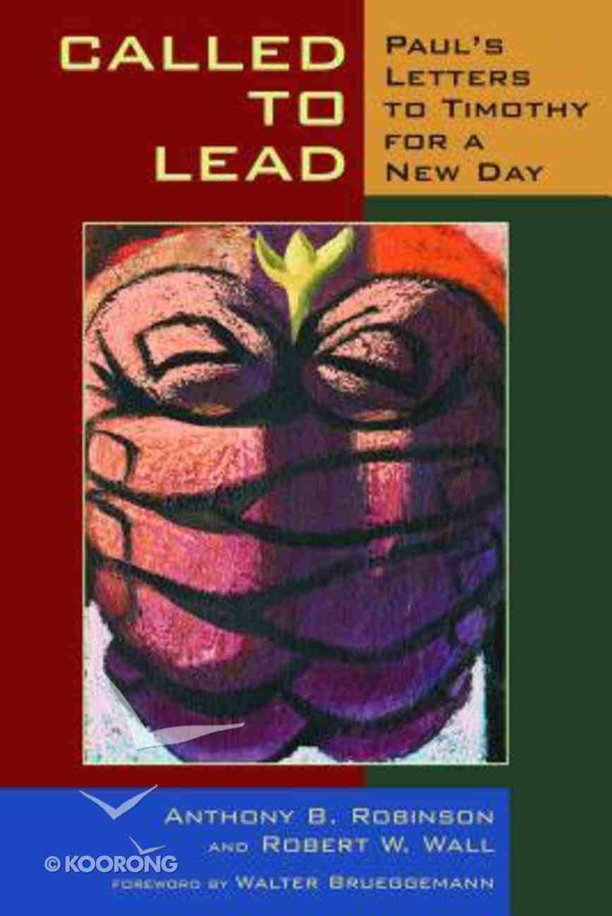 Called to Lead Paperback
