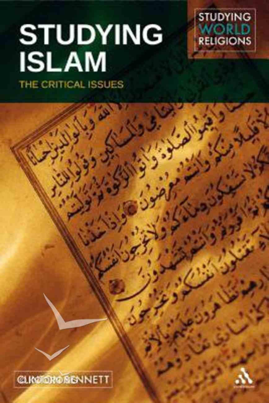 Studying Islam Hardback