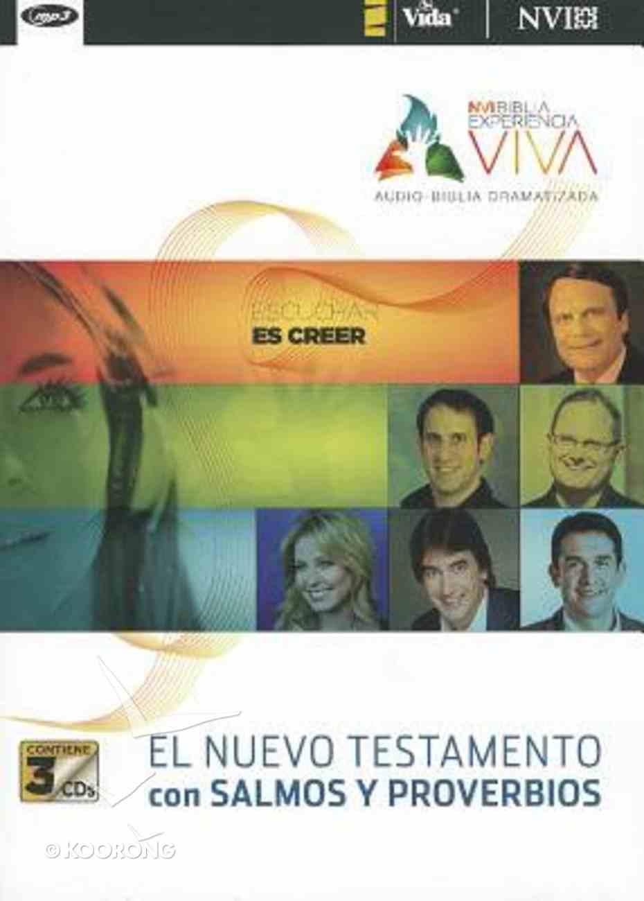 Experiencia Viva Nuevo Testamento Con Salmos Y Proverbios (Living Experince New Testament With Psalms and Proverbs) (Mp3) CD