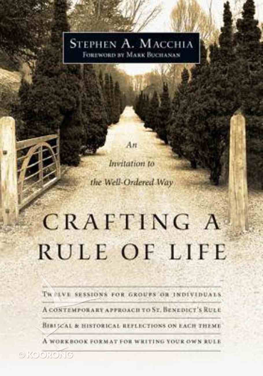 Crafting a Rule of Life Paperback