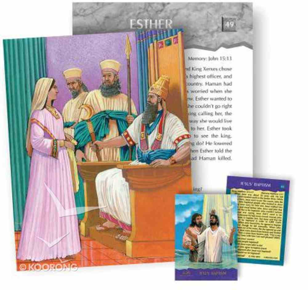 Bible Story Cards: Super Cards New Testament Cards