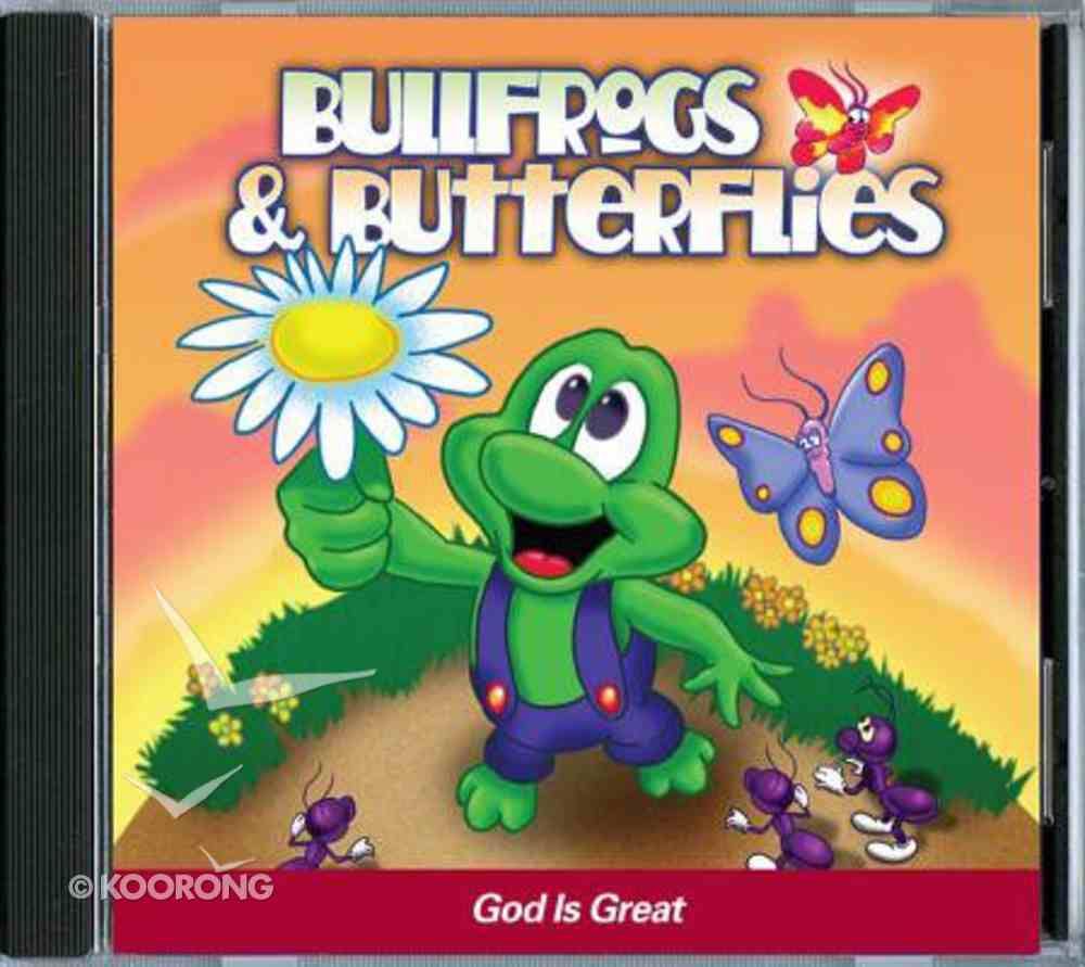 God is Great (Bullfrogs And Butterflies Series) CD