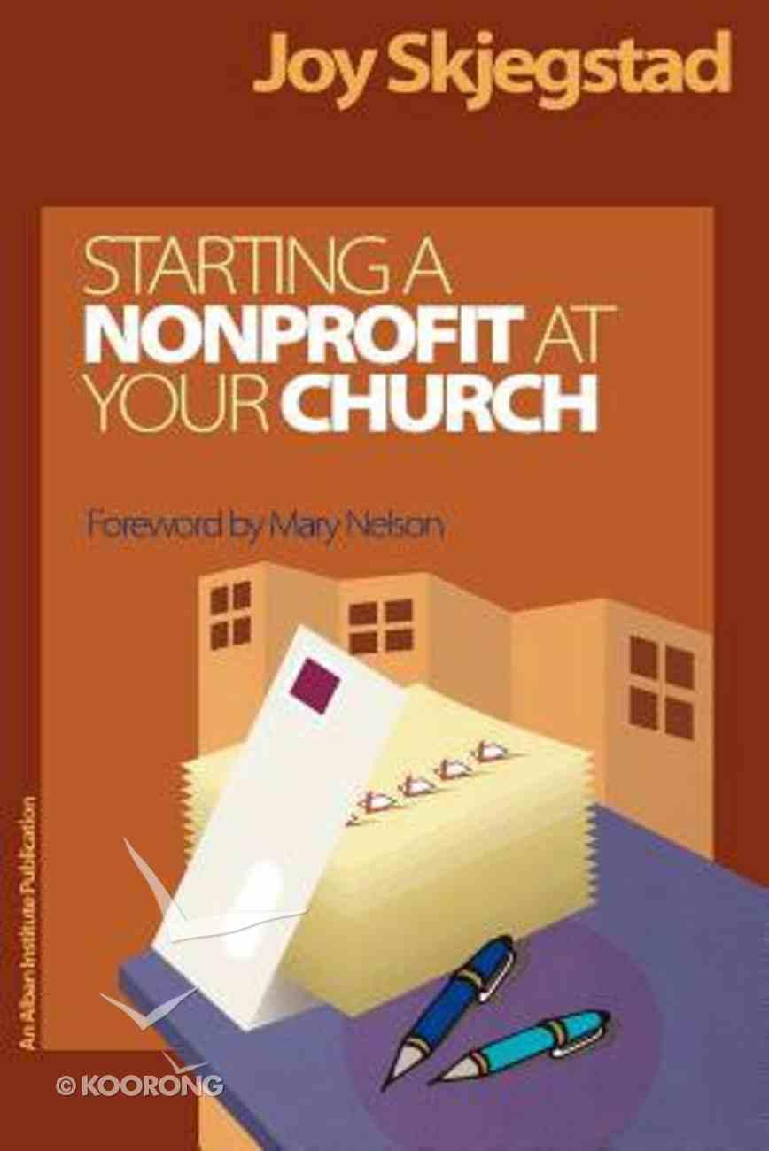 Starting a Nonprofit At Your Church Hardback
