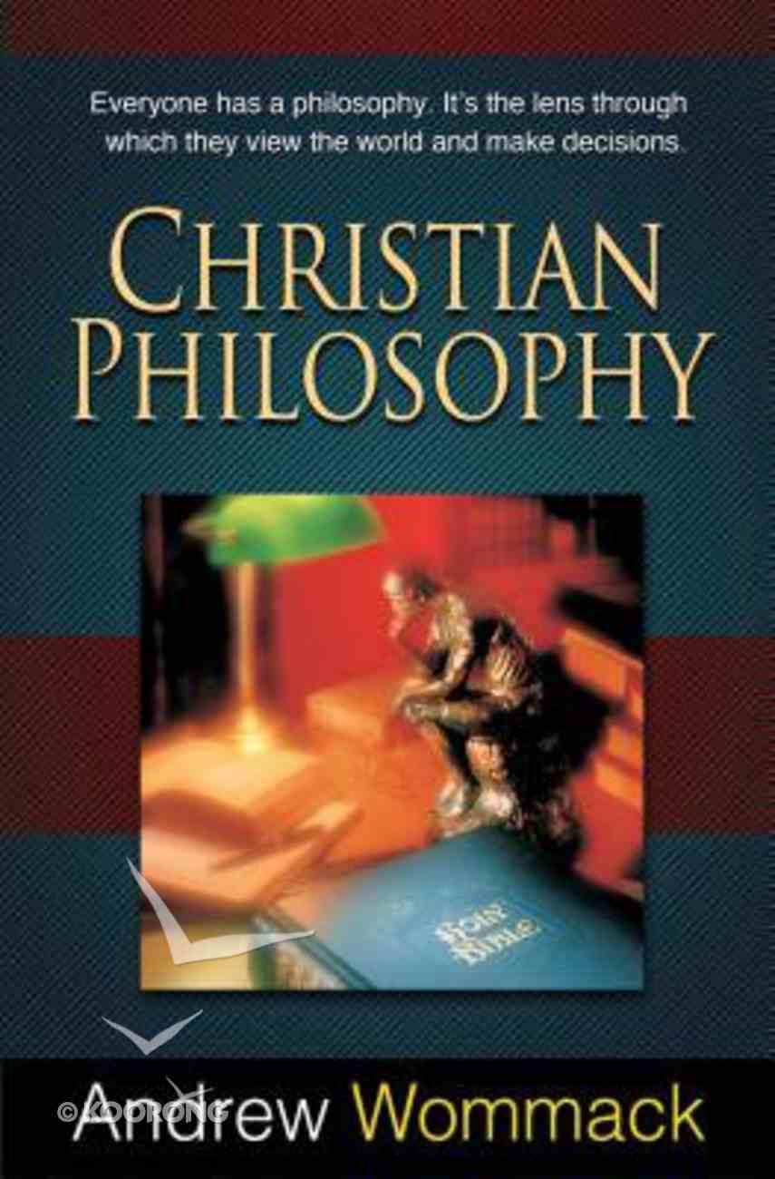 Christian Philosophy Paperback