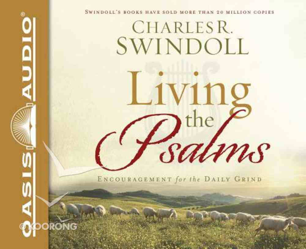 Living the Psalms (Unabridged, 8 Cds) CD